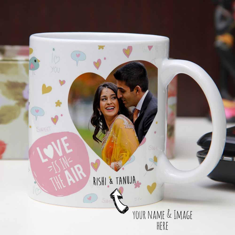 Romantic You and Me Printed Mug