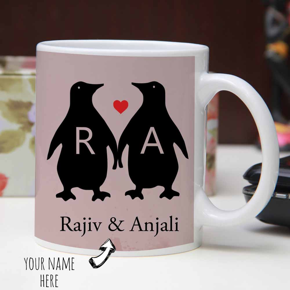 Quote and Caricature printed Mug