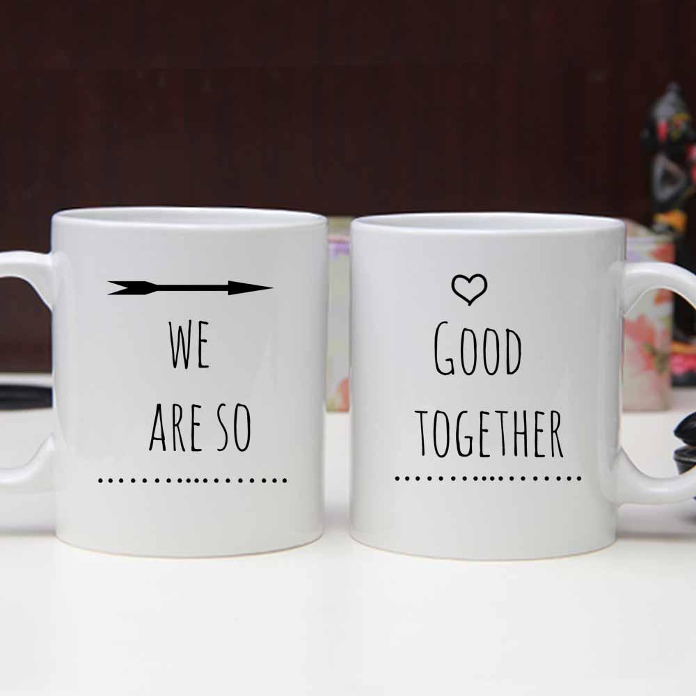 Penguin Pair Personalized Printed Mug