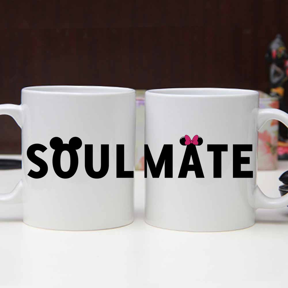 Personalized Couple Name and Printed Quote Mug