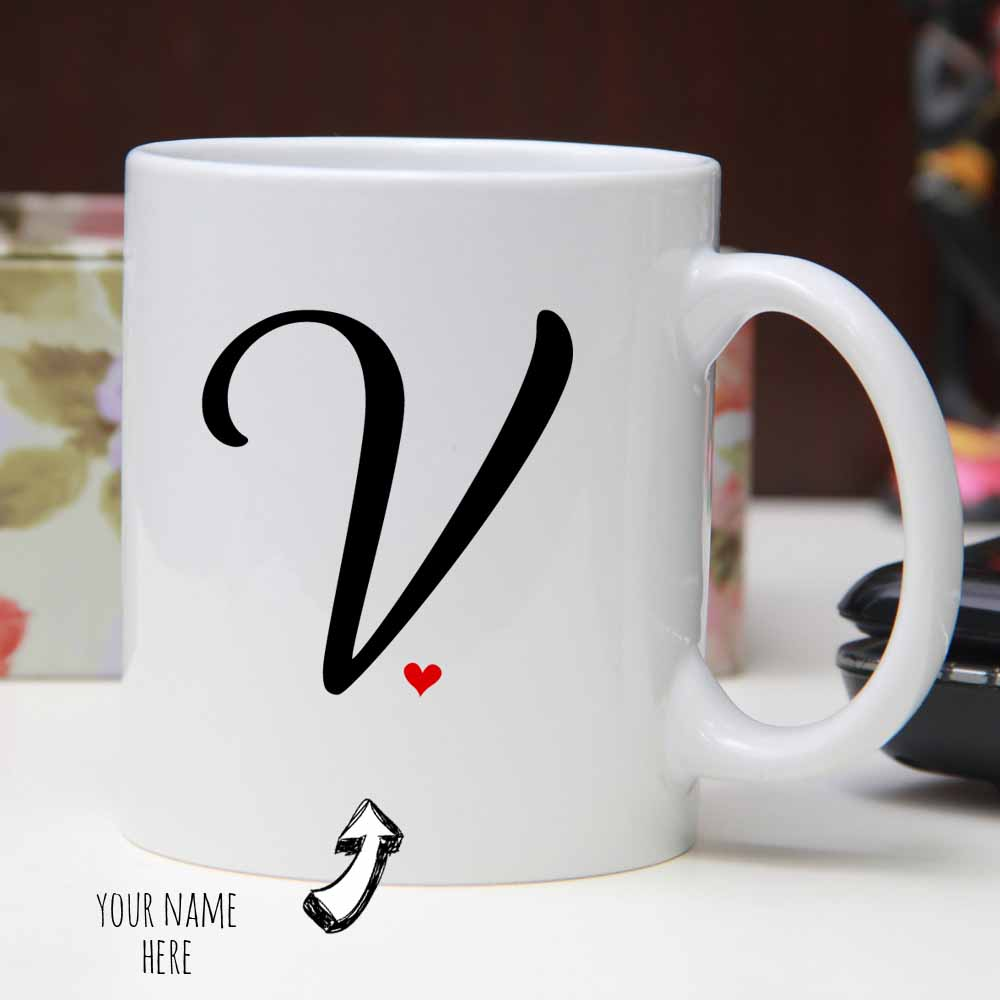You and Me Personalized Mug