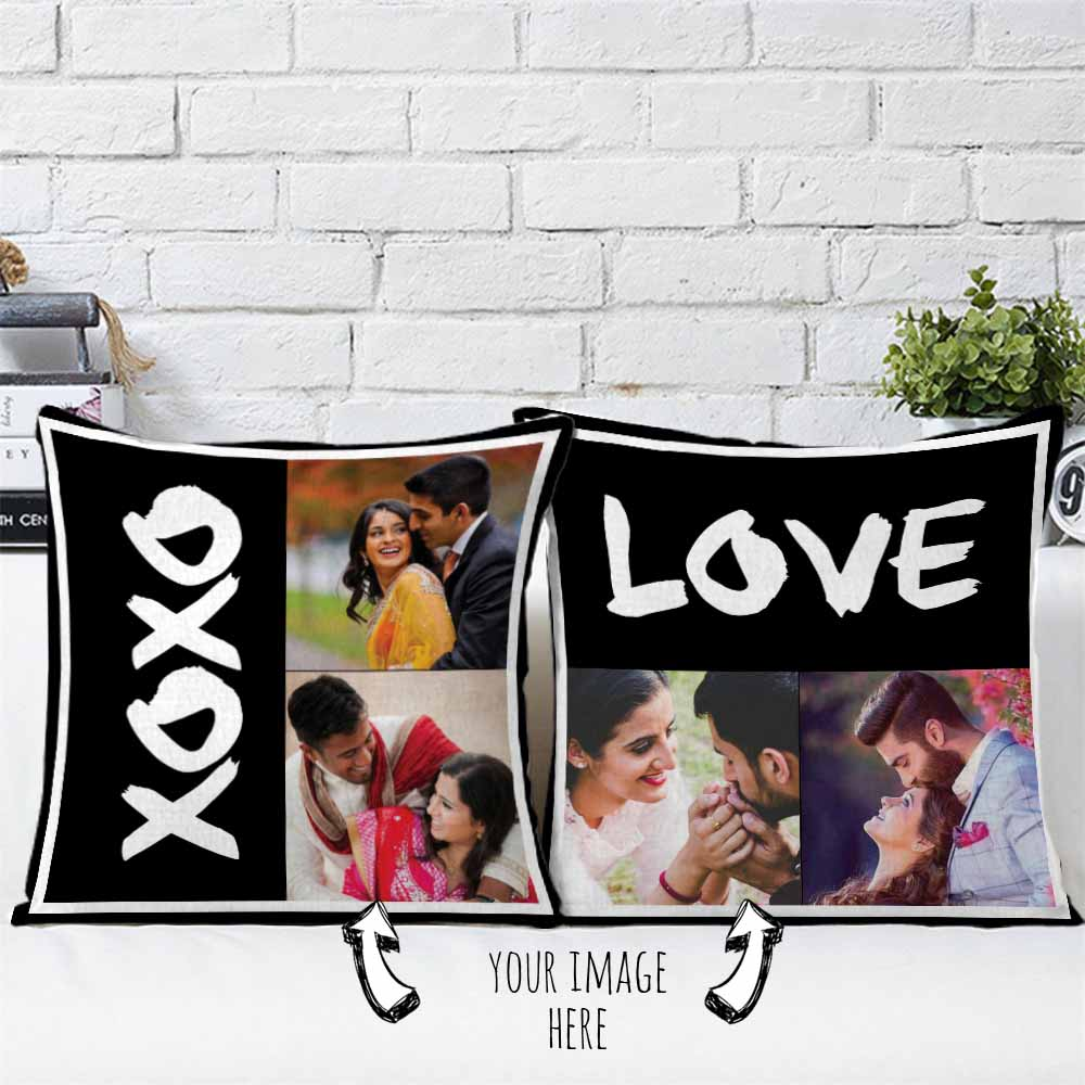 Personalized Love Cushions Pair