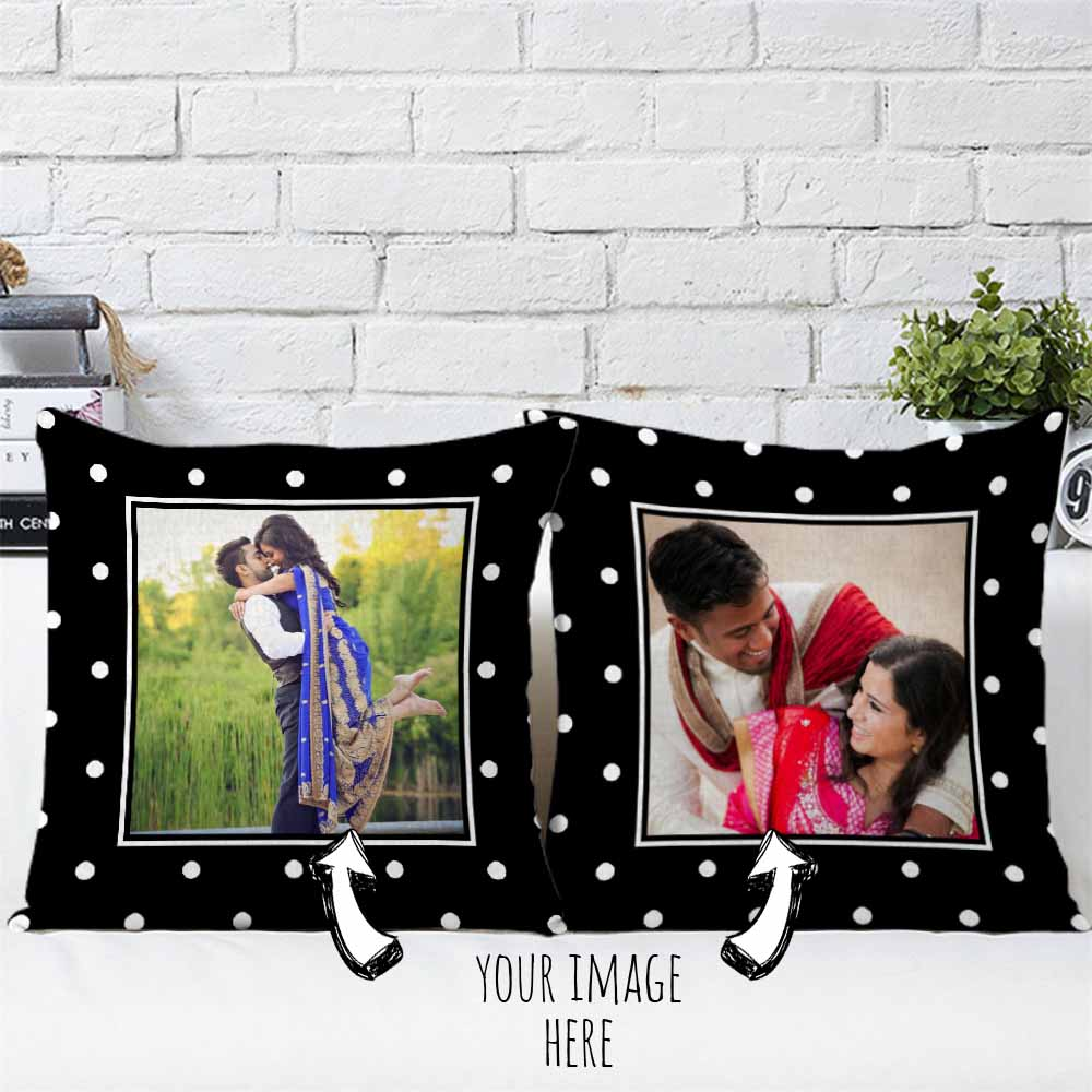 Lovely Cuddle Personalized Cushions Pair