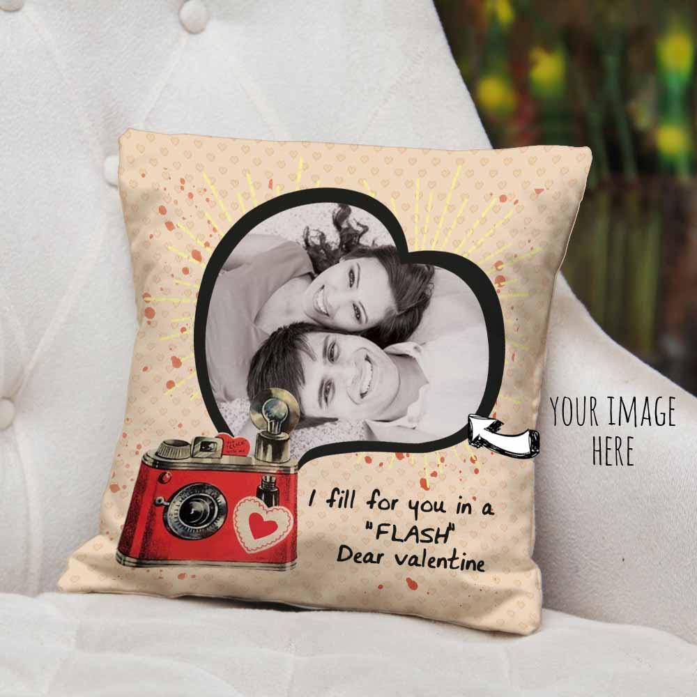 Dear Valentine Personalized Cushion
