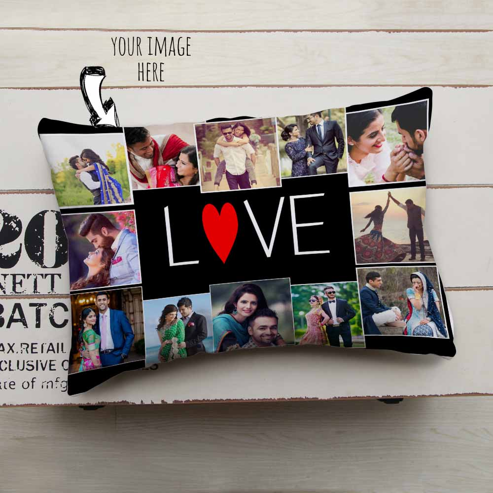 Personalized Photos Love Cushion
