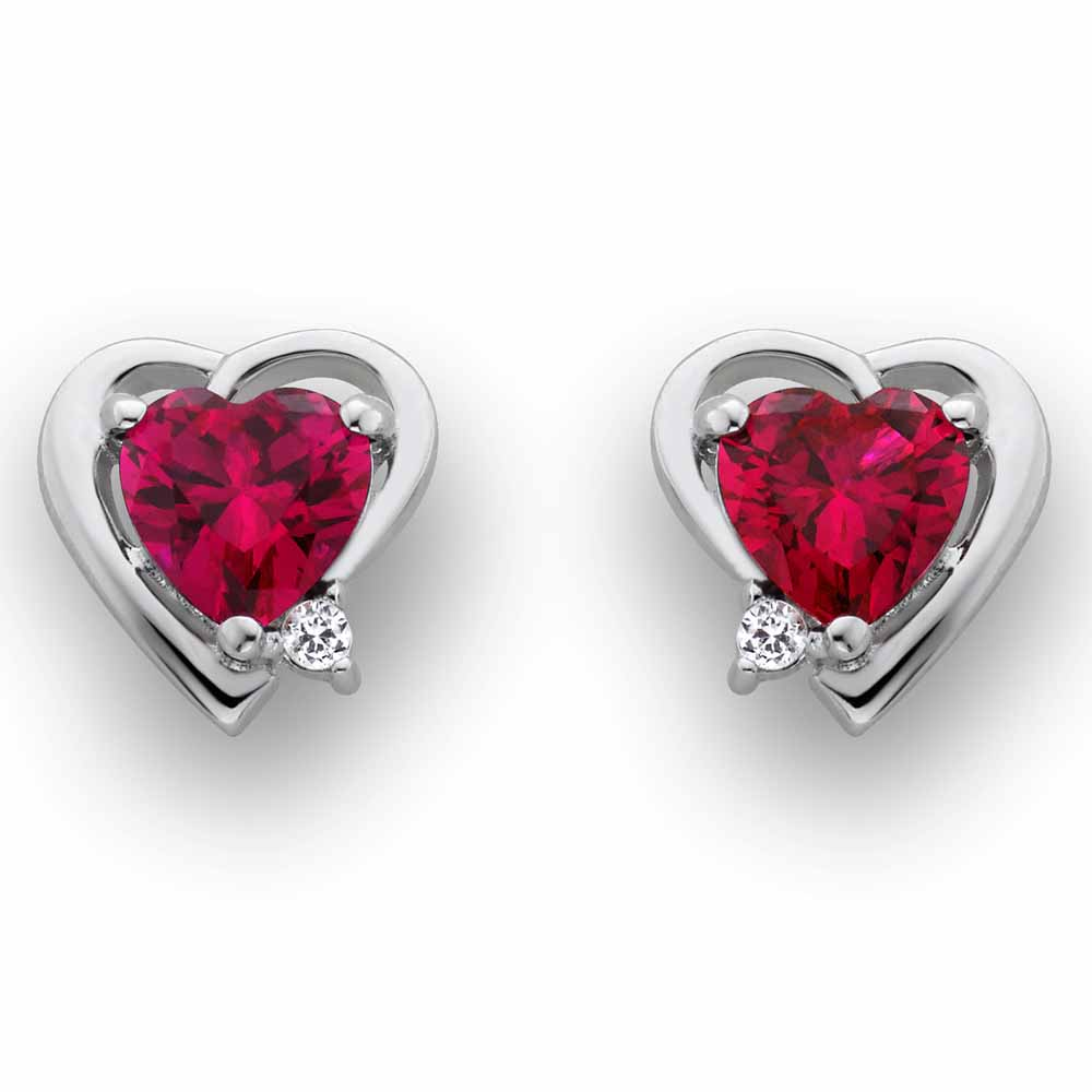 Facetzinspire Diamond Heart Earring