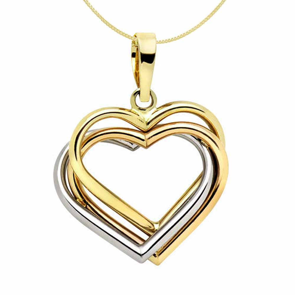 Sterling Silver Heart Love Pendant