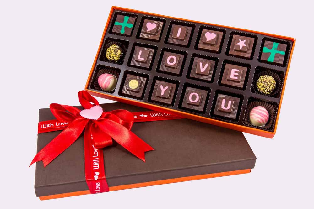 Velvet Fine Chocolate's I Love You Box