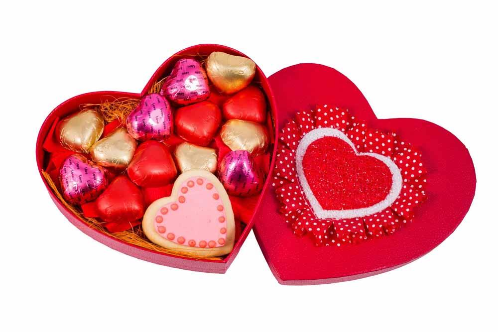 Velvet Fine Chocolate's Heart Box