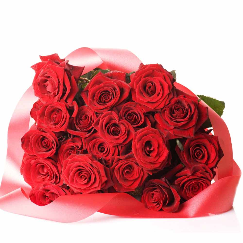 Valentine Affection Red Roses
