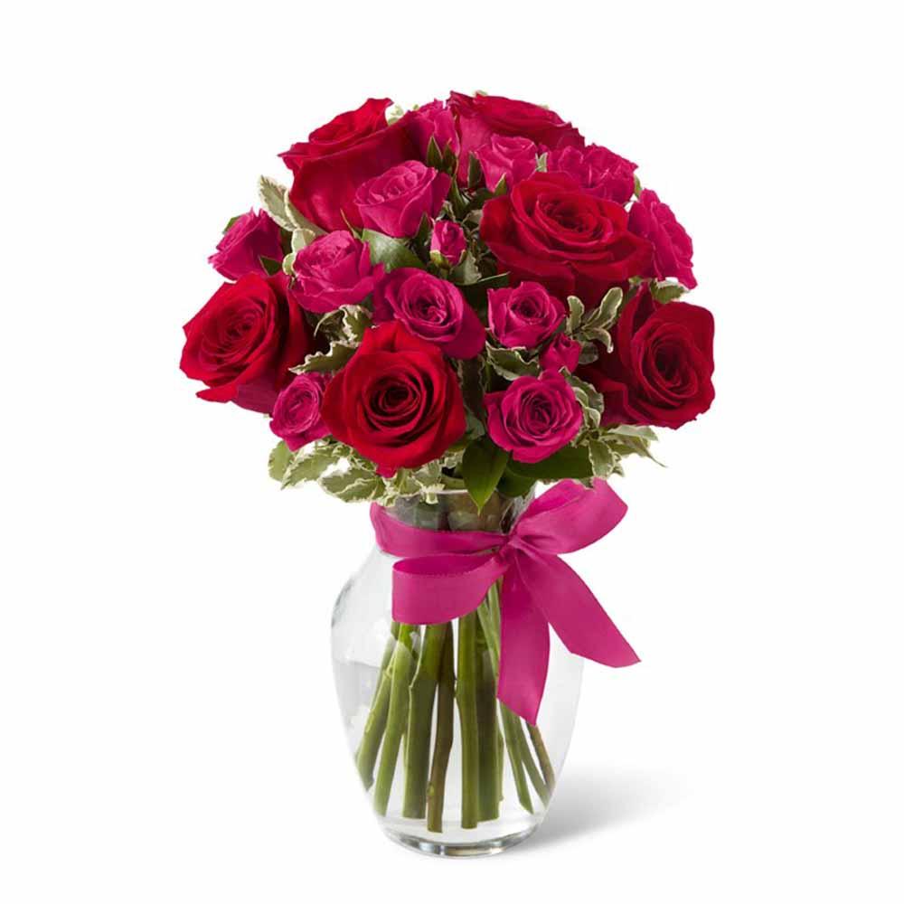 Valentine Romance Special Vase
