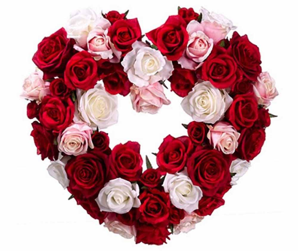 Valentine Flowers-Love Heart Valentine Gifts