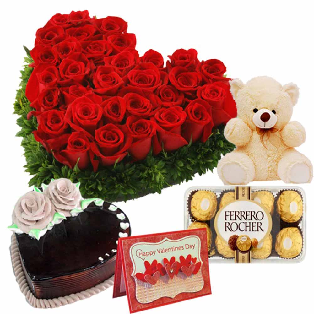 Valentine Flowers-Love Special Treat