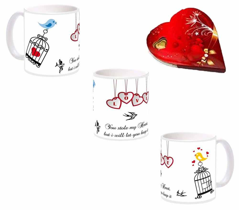 Love Birds Mug - 325 ml Gift