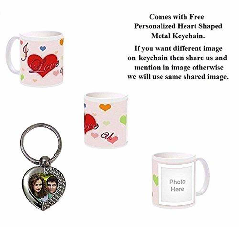Love Photo Mug - Personalized Coffee Mug with Picture - Love is Forever Gift