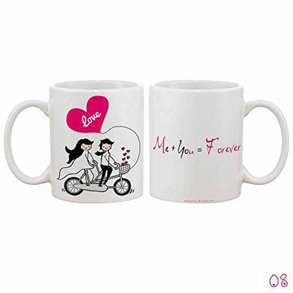 Me You Forever Riding Together Mug
