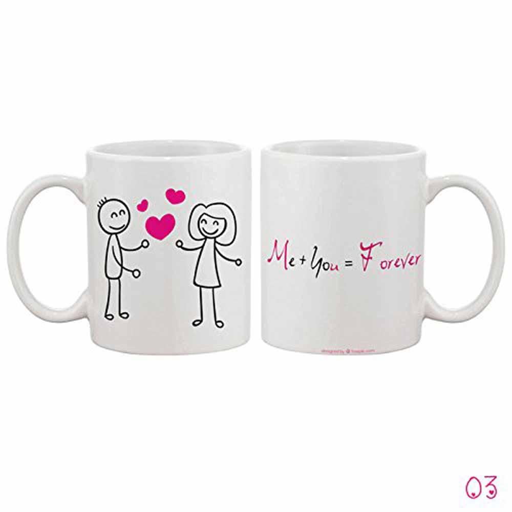 Me You Forever White Mug