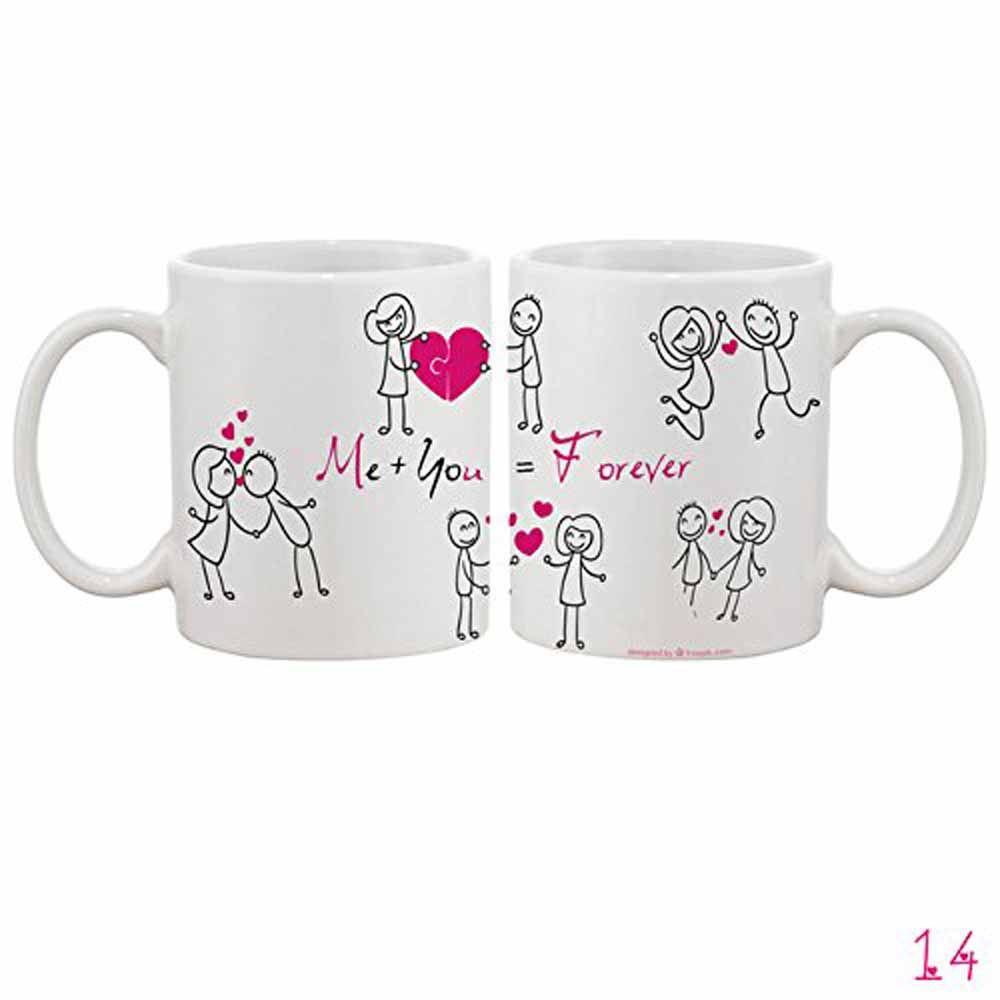 Me You Forever Collage Mug