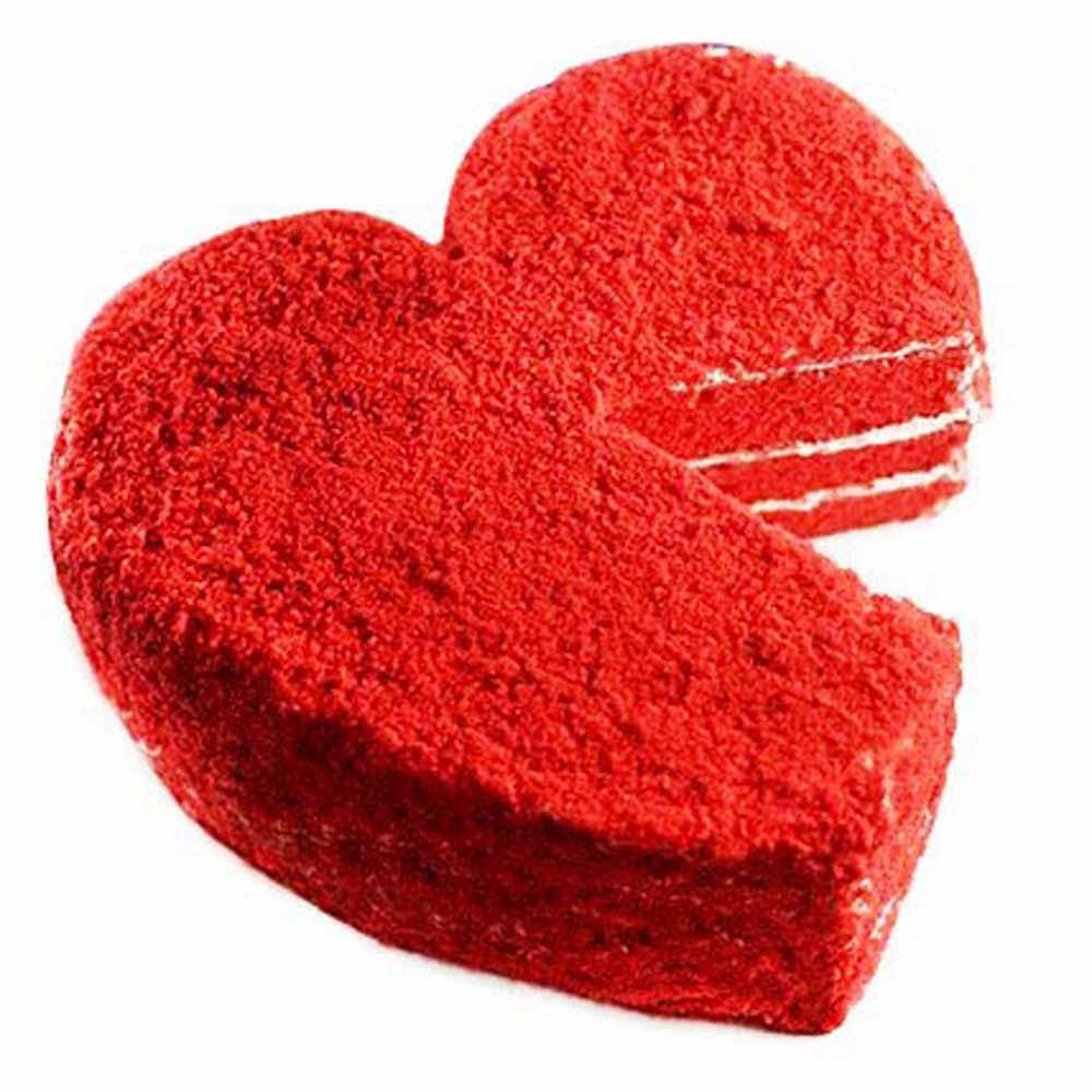 Cakes-Red Velvet Heart Cake