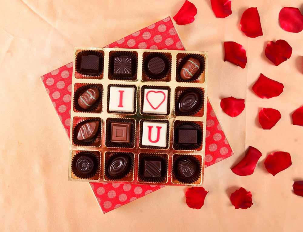 Romantic Elegant chocolate box