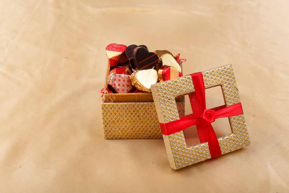 Jewellary Box with Truffles