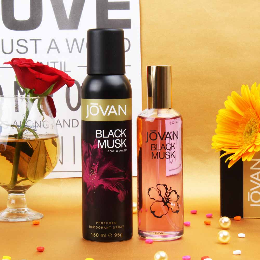 Jovan Black Musk Combo For Women