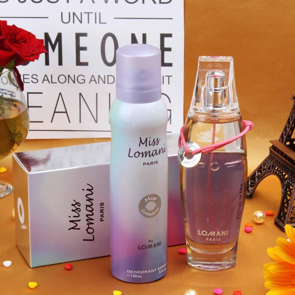Miss Lomani Paris Women Gift Set