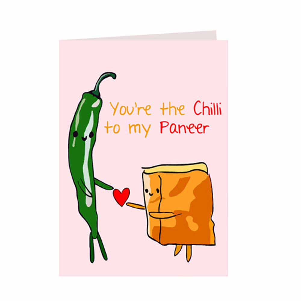Chilli Paneer Card