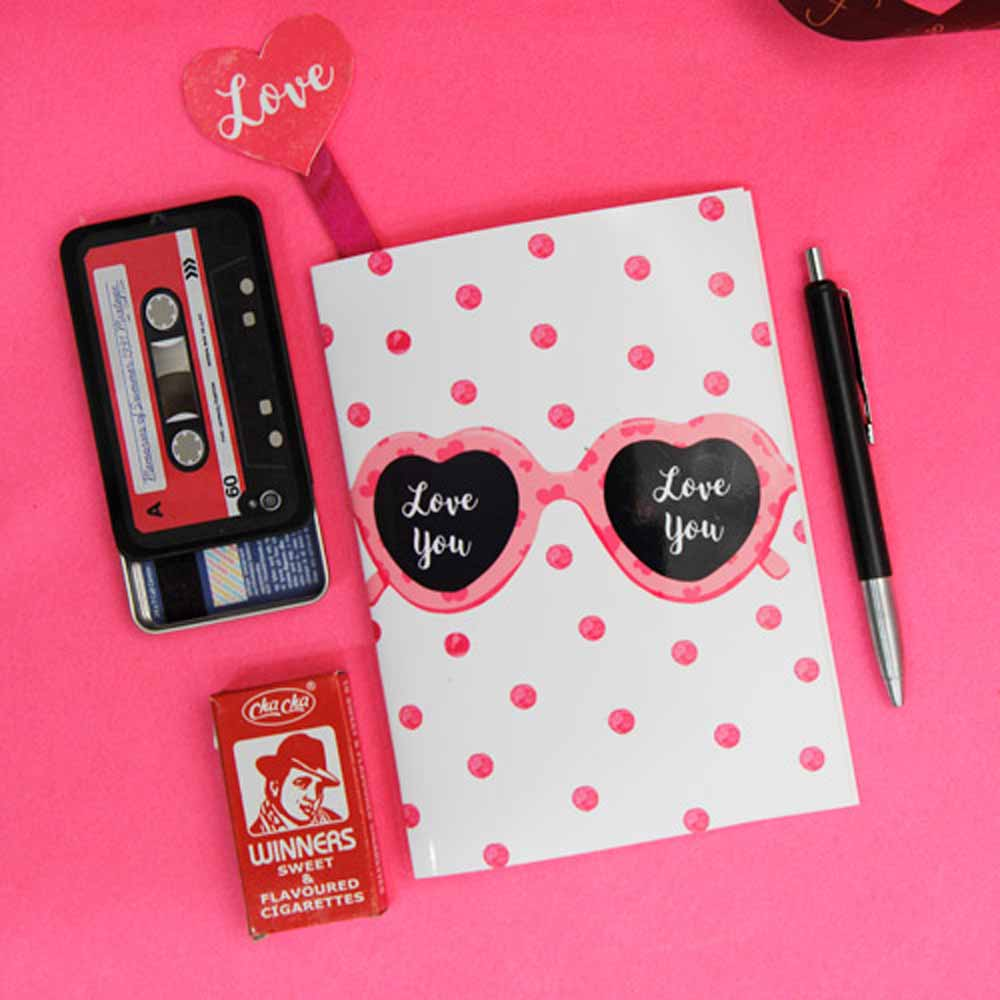 Visting card case with pen and sweet flavored cigarettes