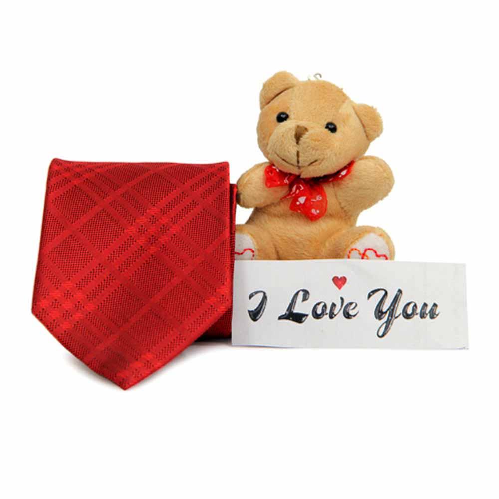Red Tie For Valentine