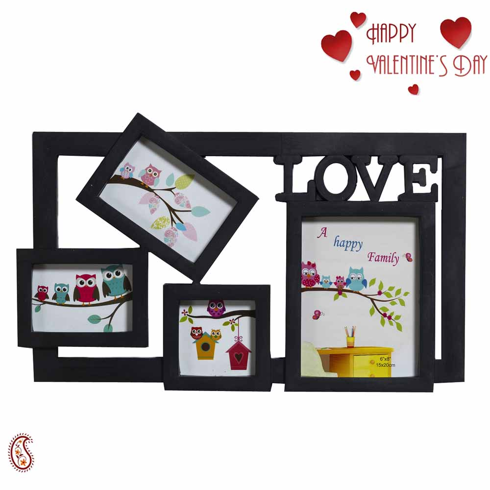 Beautiful 4 Pictures Collage Photo Frame