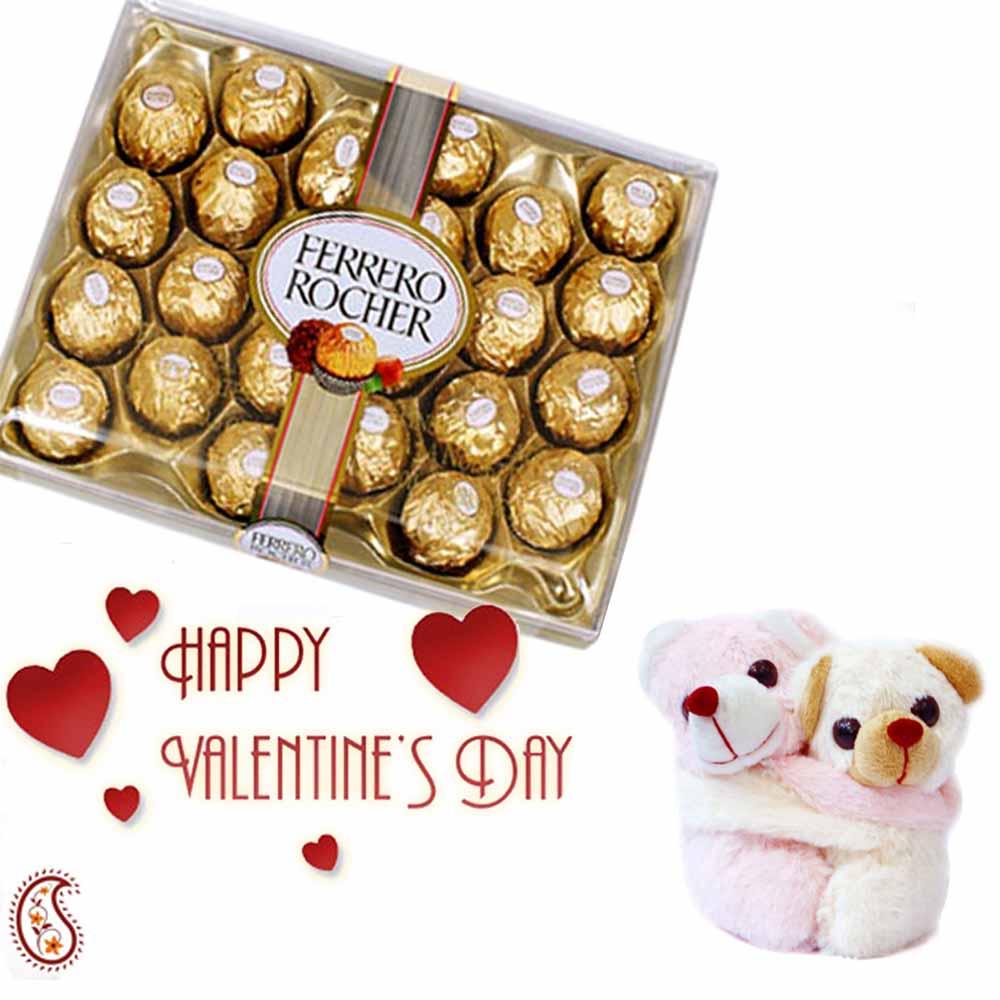 24 Pc Ferrero Rocher with Love Expressions