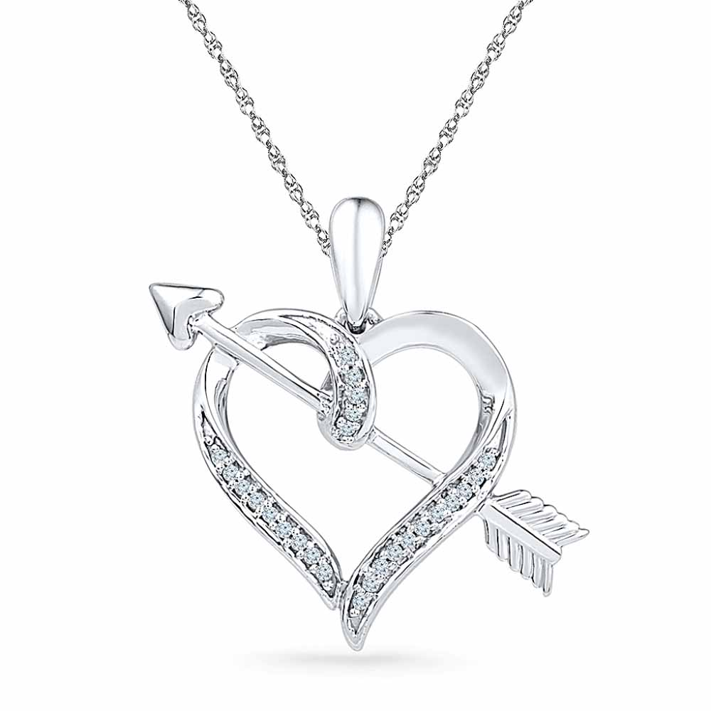 You And Me Diamond Pendent