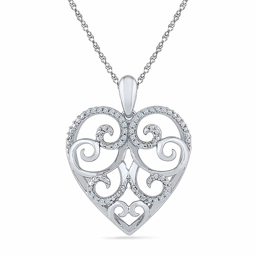 Fragrance Of Love Diamond Pendent