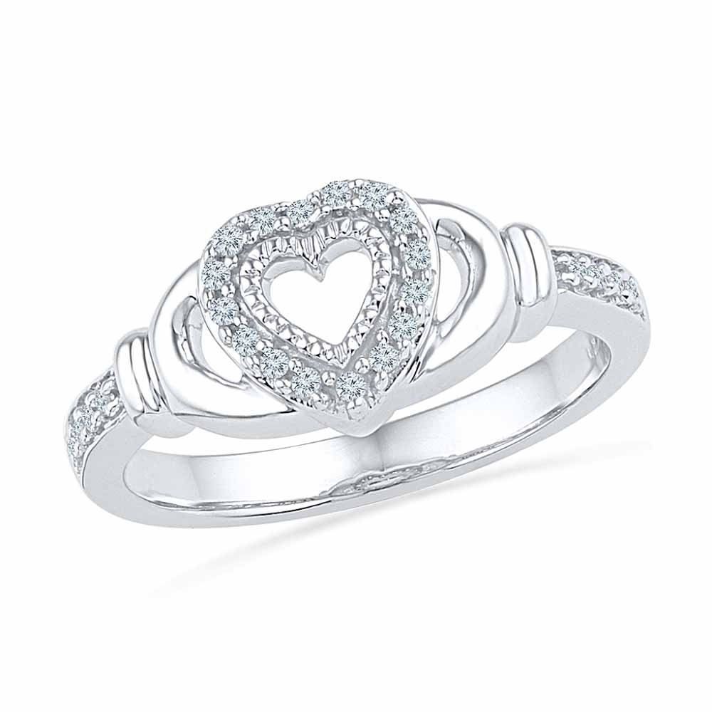 Lucky Heart Diamond Ring