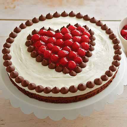 All India Cakes-Eggless Cherries and Chocolate Cake
