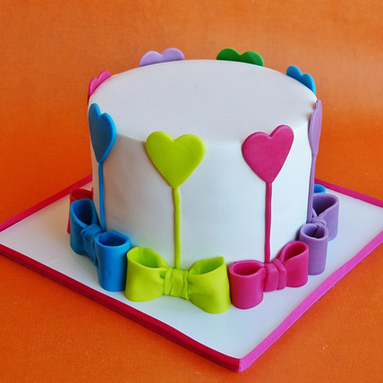 Colors Of Love Cake