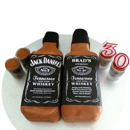 All India Cakes-Delicious Jack Daniels Cake