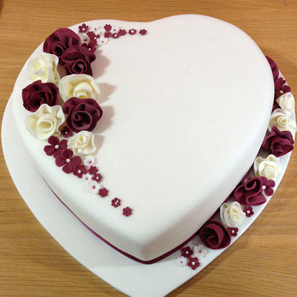 All India Cakes-Divine Heart Cake