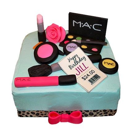 All India Cakes-MAC Makeup Cake