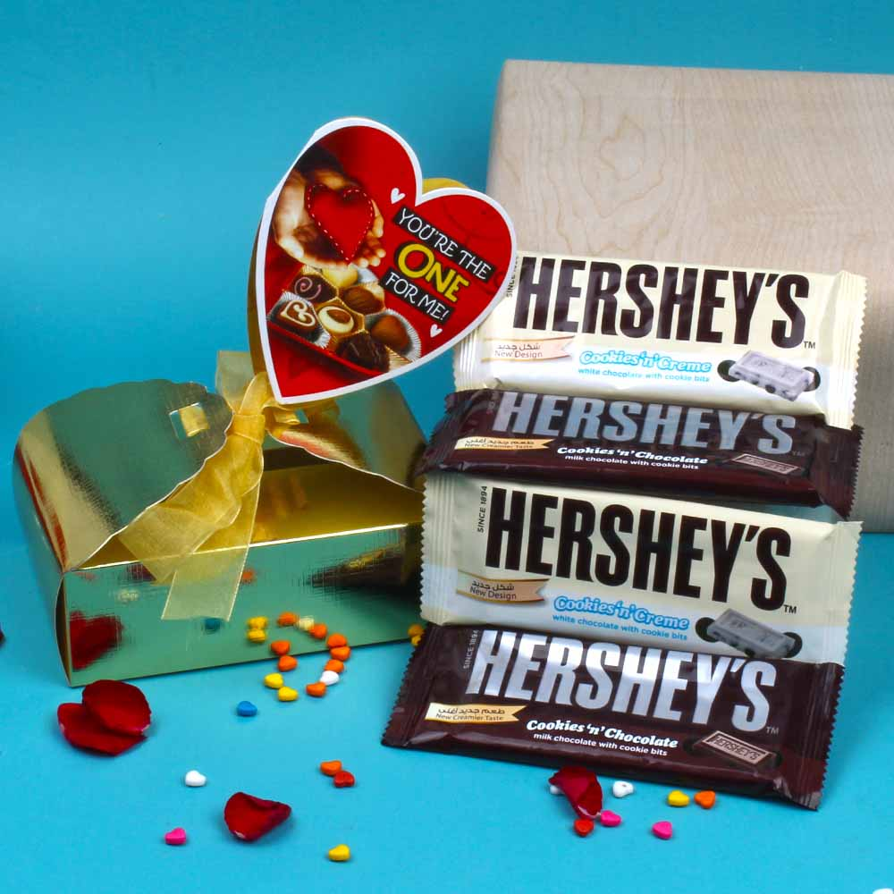 Hersheys Choco Valentine Combo