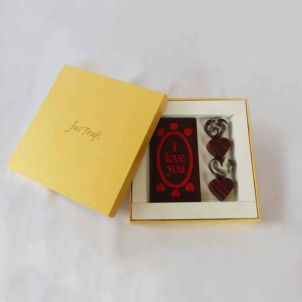 Romantic I love you Valentine Chocolate