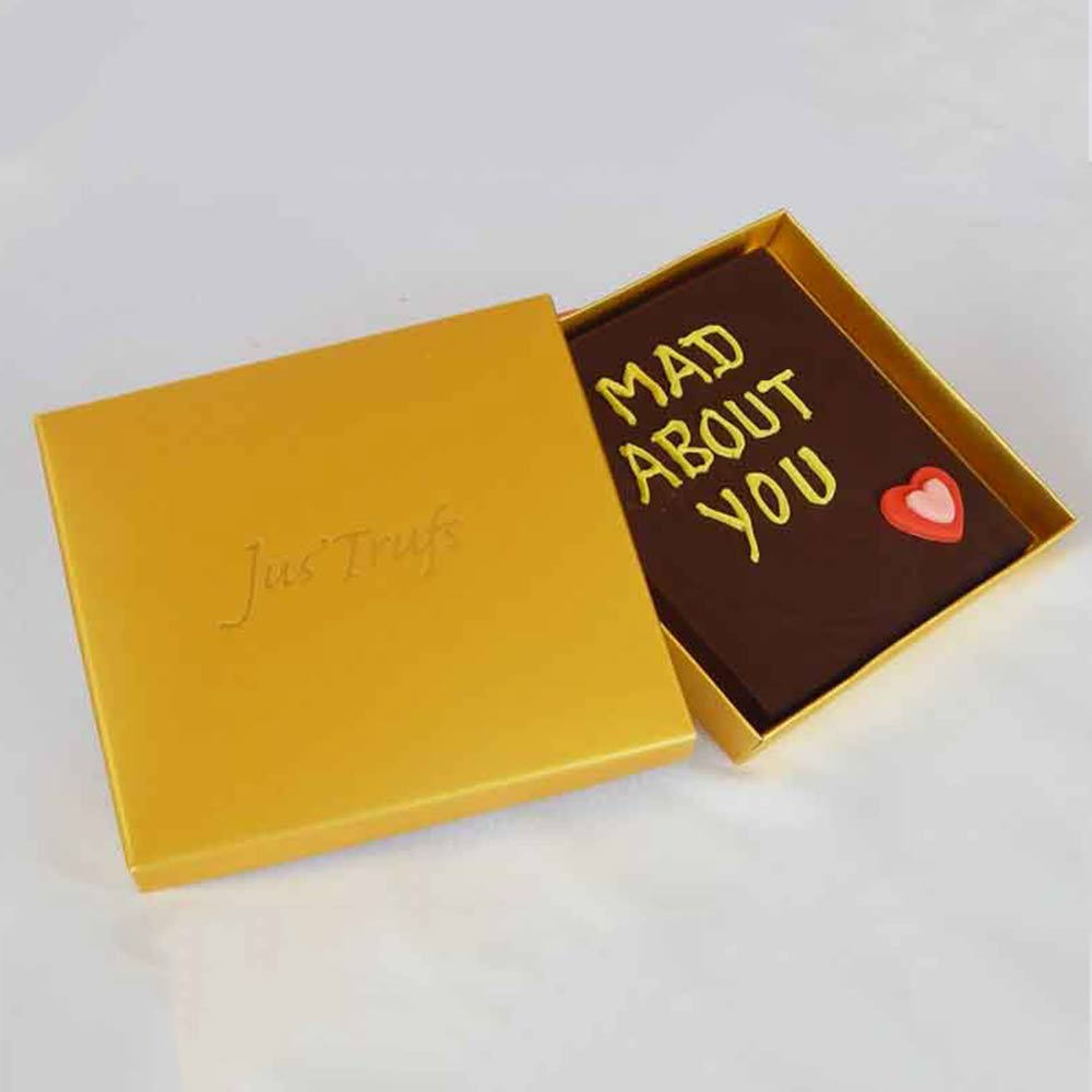 Personalise your Chocolate Valentine