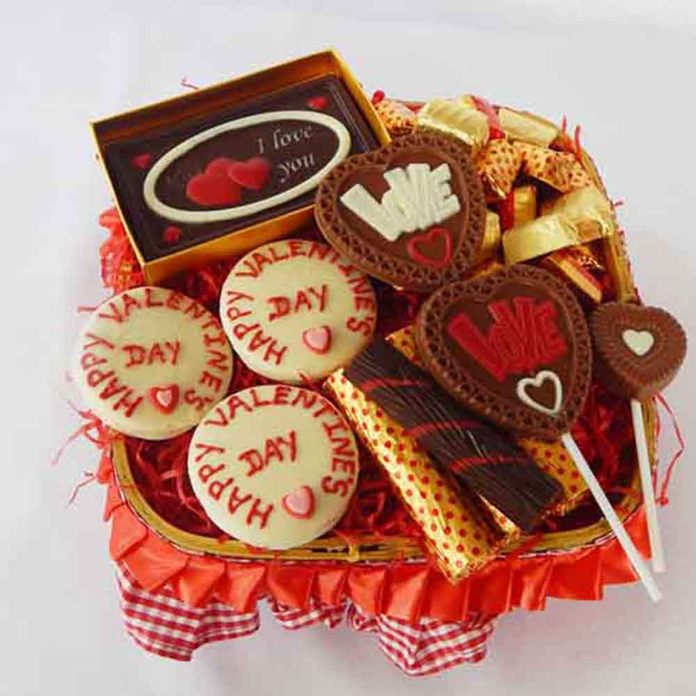 Be Mine Chocolate Valentine Hamper