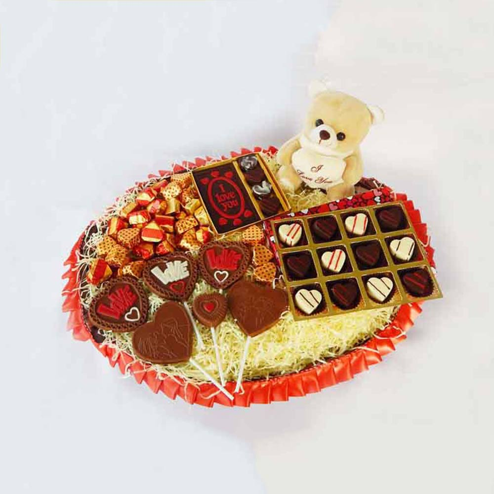All My Love Chocolate Valentine Hamper