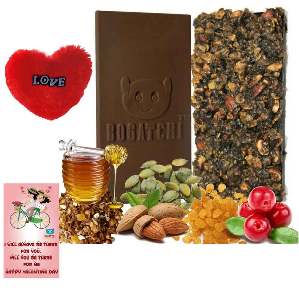 Granola & Heart chocolate
