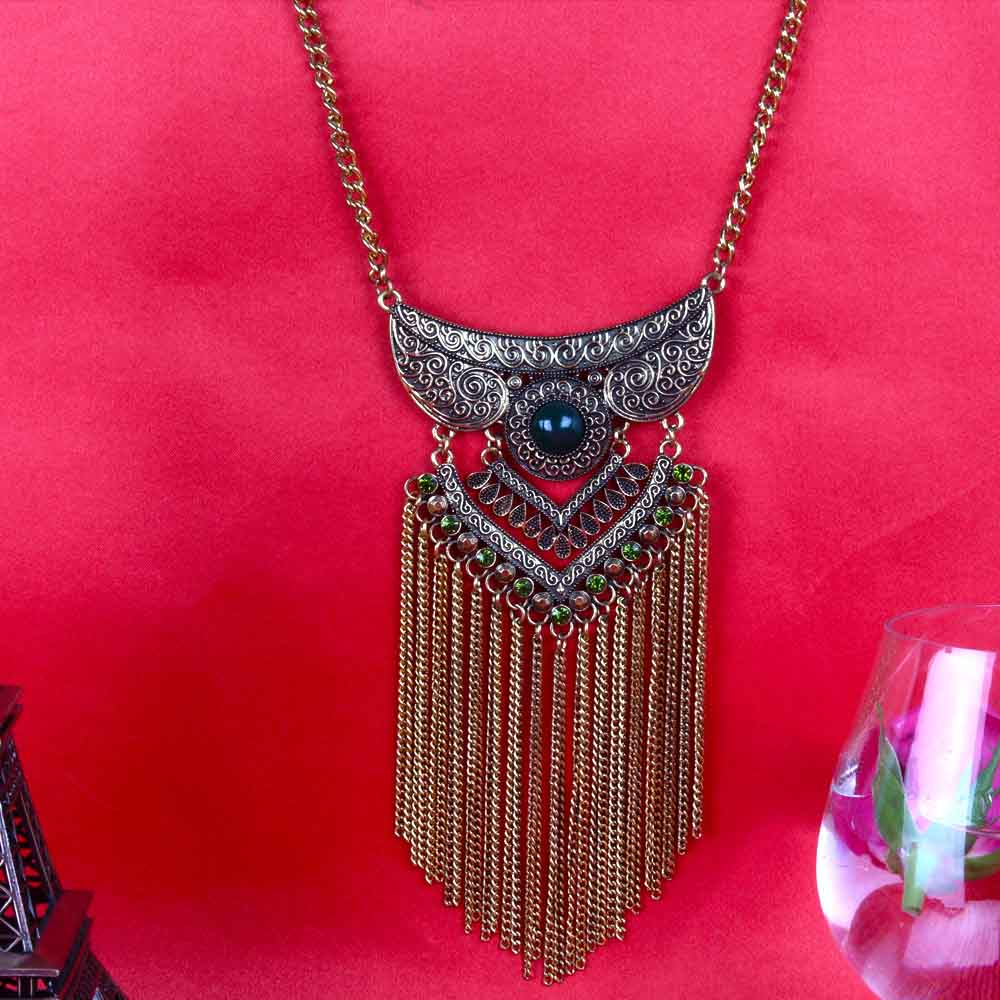 Ethnic Western Long Necklace