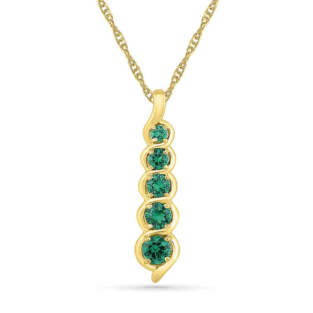 Incredible Emerald Pendant