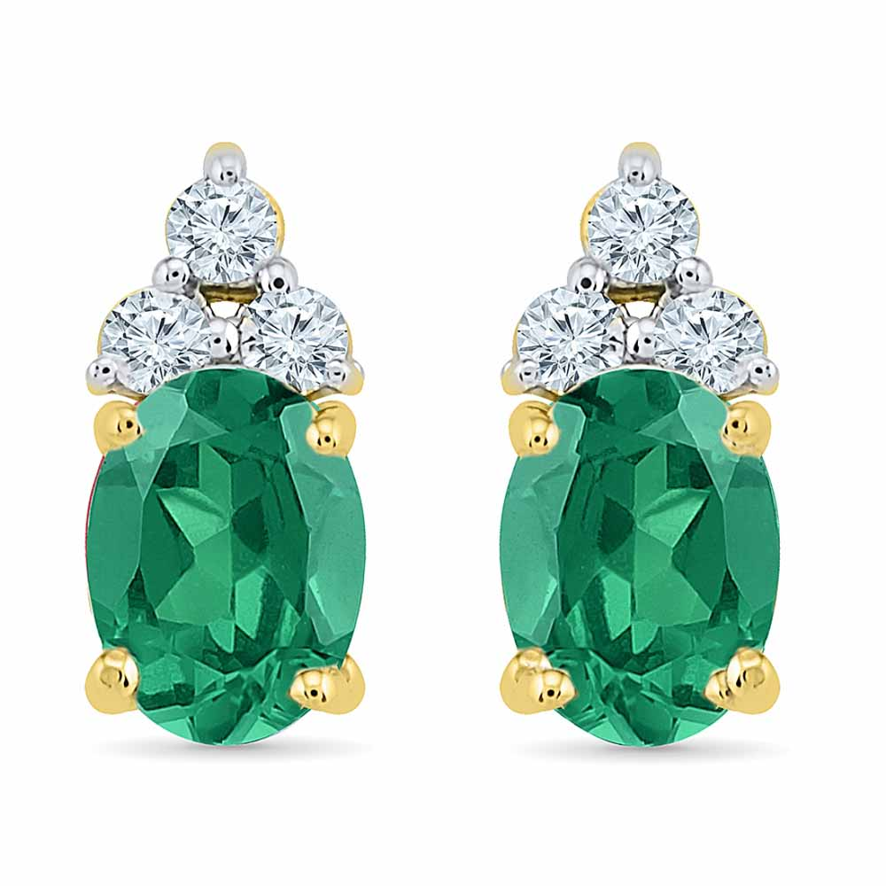 Astonishing Emerald Earrings