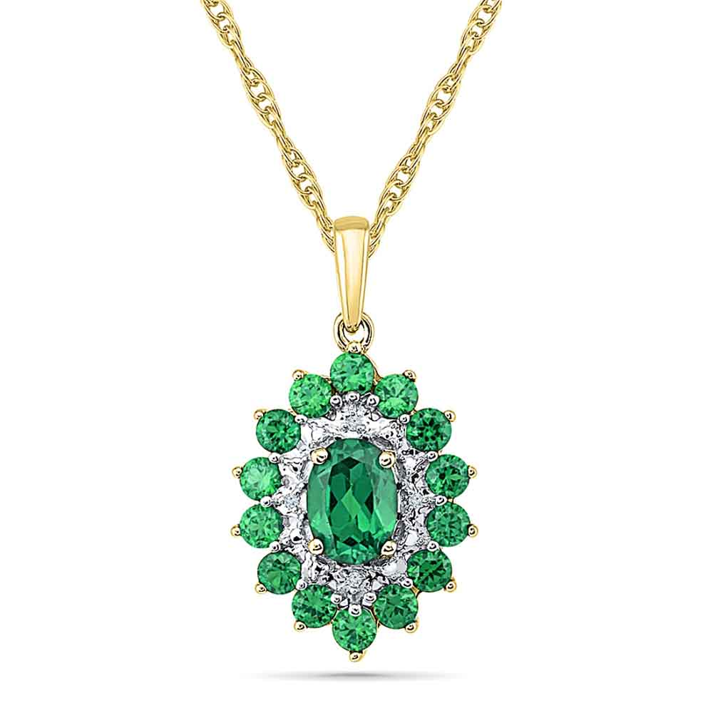 Hilarious Emerald Pendant